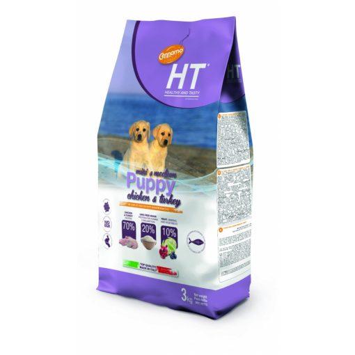 HT Puppy Mini & Medium Csirke és Pulyka 3 kg
