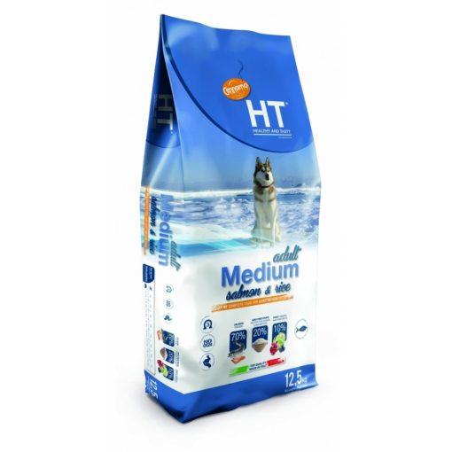 HT Adult Medium Lazac és Rizs 12,5 kg